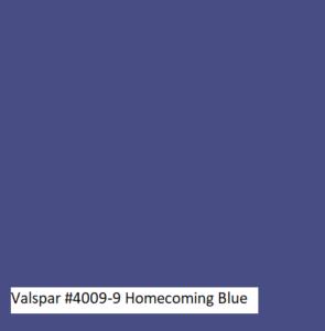 Valspar #4009-9 Honorable Blue