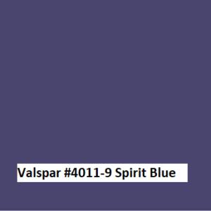 Valspar #4011-9 Spirit Blue